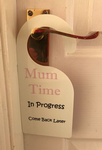 Mum Time Door Hanger